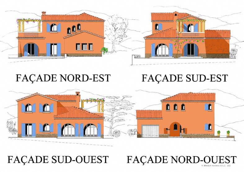 Les villas les chenes verts for Les meilleurs facades des villas